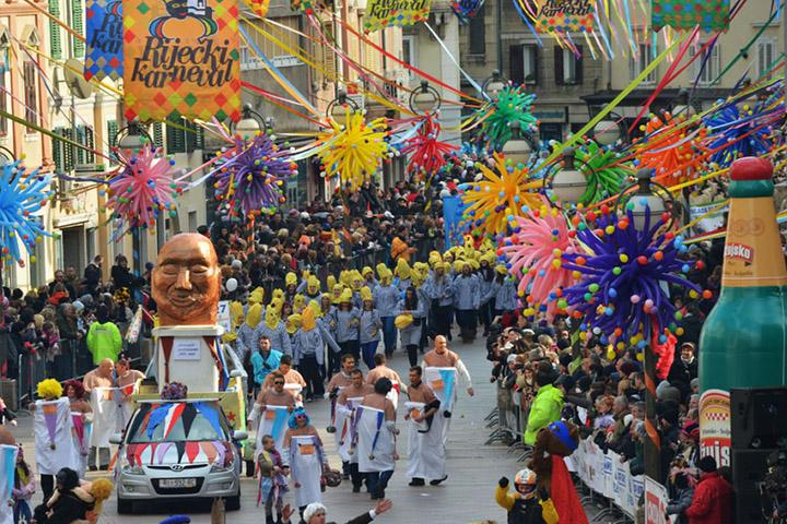 Carnevale di Fiume CROAZIA