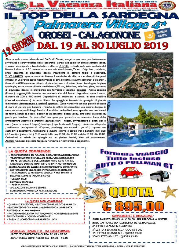 19-30JUL 2019 AUTO TRSF PALMASERA