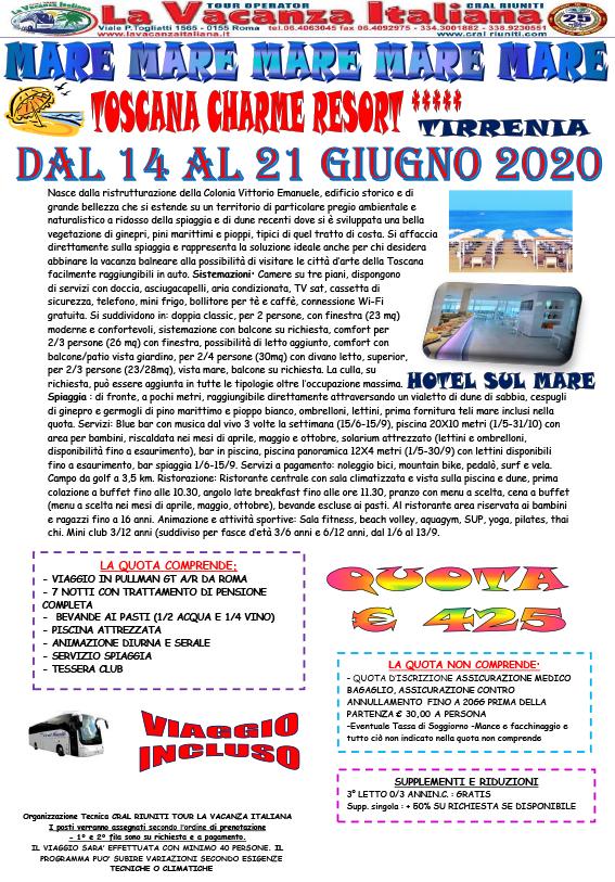 Viaggi di gruppo mareitalia mare in toscana for Volantino acqua e sapone toscana